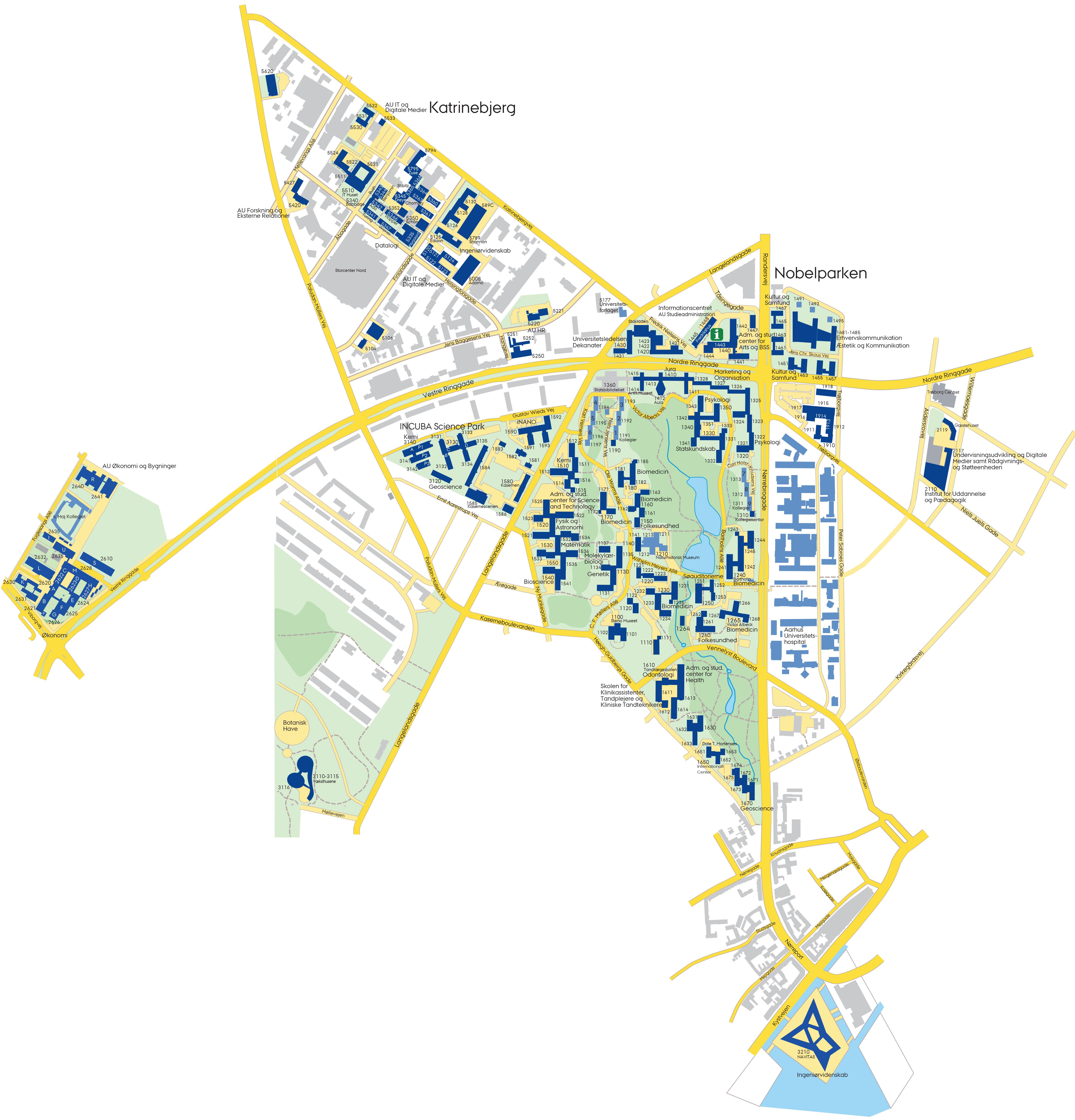 aarhus kart Building Map aarhus kart